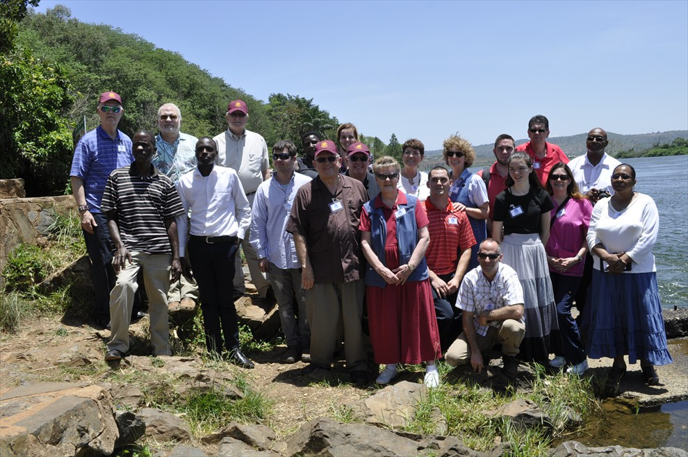 The March 2017 Mission Team at the Nile River